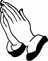 praying hands coloring page free at itgod me