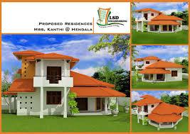 modern two story house plans trendy design 7 new two story house plans in sri lanka single