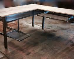 Industrial Computer Desks L Shaped Desk Industrial Desk Computer Desk Home Office