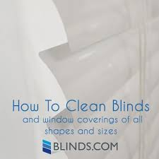 How To Clean Greasy Blinds How To Clean Blinds Window Treatment Cleaning Guide The