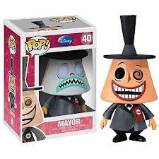 disneys nightmare before the mayor pop vinyl figure