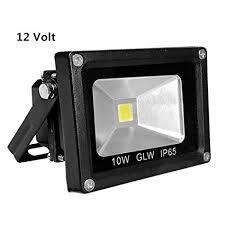 Outdoor Flood Light Fixtures Waterproof Glw 10w 12v Ac Or Dc Led Flood Light Waterproof Daylight White