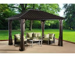 walmart patio gazebo pergola outdoor permanent gazebo dazzling outdoor permanent