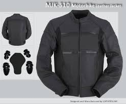 Cowhide Leather Vest Motorcycle Leather Jacket Mjk 510 Free Shipping Leatherslink