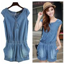 beautiful jumpsuits denim jumpsuit blue color plus size beautiful overall