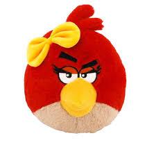 amazon angry birds plush 5 red bird sound