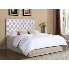 coaster upholstered beds upholstered queen full headboard with led