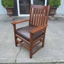 Mission Chairs For Sale Antiques By Design Mission Quartered Oak Harden Rocking Chair