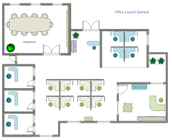 layout floor plan office layout software create office layout easily from