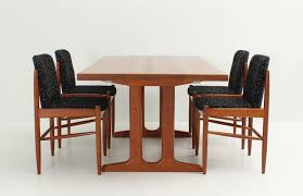 danish solid teak extendable dining table 1960s for sale at pamono