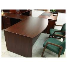 Lacasse Conference Table Lacasse Executive L Shaped Mahogany Desk Inyouroffice
