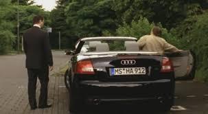 audi a4 convertible 2002 imcdb org 2002 audi a4 cabriolet 3 0 b6 typ 8h in tatort sag