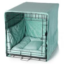 plush dog crate set w cover bed bumper pad bed bumpers dog