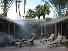 Patio Misters Koolfog Misting Systems News In The Desert Coachella Valley Misting