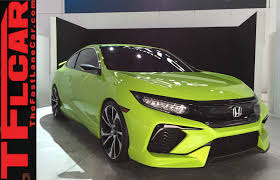 2016 honda civic concept 2015 new york auto show one take youtube