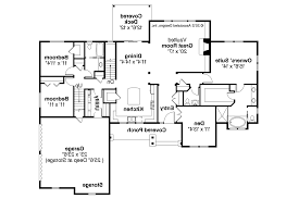 ranch floor plan ranch split bedroom floor plans with house plan the one