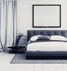 chambre gris intérieur chambre gris et blanc élégant avec gros plan dé d un