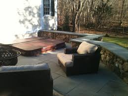 Stone Decks And Patios by Stone Deck Tub Installation Don Nyren Masonry