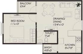 1 bhk floor plan vastu siddhivinayak apartment in morod indore price location