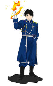 colonel mustang roy mustang with flames by ryuuzaki l 19 on deviantart