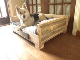 amazing wooden dog bed frame 119 diy wood pallet beds for jpg