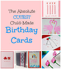 birthday card ideas for toddlers to make kids finger paint card