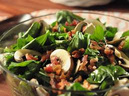 spinach salad with garlic dressing recipe trisha yearwood