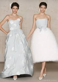 winter wedding dresses 2010 oscar de la renta wedding dresses fall 2011 wedding inspirasi