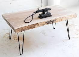 wood slab coffee table diy my diy wood slab diy wood and coffee