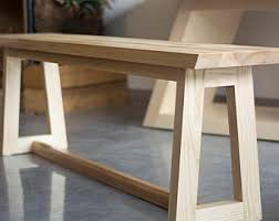 Dining Room Bench Seat Dining Table Bench Etsy