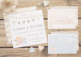 stunning wedding invitation companies diy hand stamped wedding