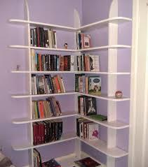 corner book shelves tall cute corner book shelves in order