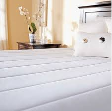 king size heated mattress pad sunbeam皰 premium quilted heated mattress pad