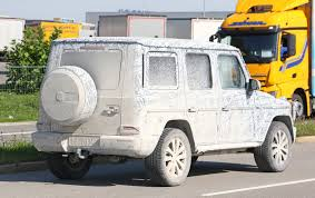 mercedes g wagon new 2018 mercedes g class spied by car magazine