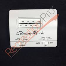 coleman mach thermostat manual 28 images coleman mach rv
