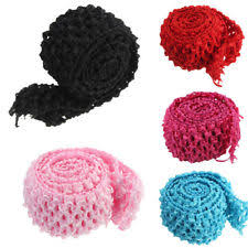 crochet band crochet elastic clothes shoes accessories ebay