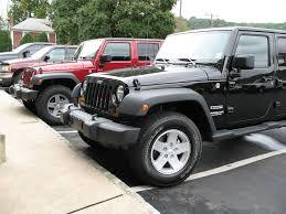 jeep sport tires goodyear wrangler duratrac 285 75r17 tires installed wrangler