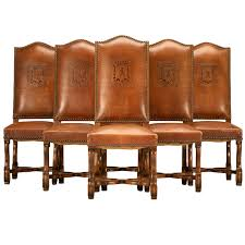 Dining Leather Chair Leather Dining Room Chairs Discoverskylark