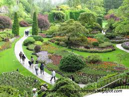 my garden path visiting beautiful butchart gardens in victoria bc