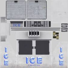 3d asset ice machine cgtrader