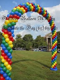 balloon delivery nashville celebrate the day with balloons party balloon decorations