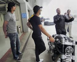 hellcat x132 dhoni jubilant indian cricketers drive in fast lane