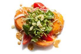 persimmon salad with sesame vinaigrette recipe chowhound