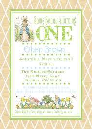 Easter Decorations Pdf by Peter Rabbit Easter Birthday Invitations By Asweetcelebration