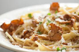 chanterelle mushrooms pasta recipe