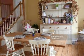 Cottage Chic Kitchen - shabby chic kitchen stock photo getty images