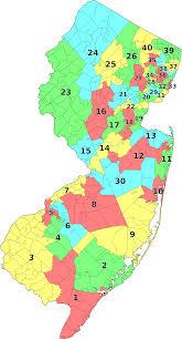 Map New Jersey File New Jersey Legislative Districts Map 2001 Svg Wikimedia