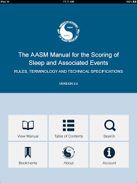 the aasm manual for the scoring of sleep and associated events app
