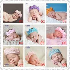 baby boy photo props newborn baby boys crown knitting hairband crochet