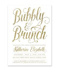 brunch bridal shower invitations bubbly brunch bridal shower invitation white gold